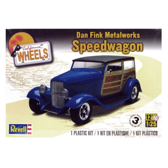 Revell Dan Fink Metal Works Ford Speedwagon Plastic Kits
