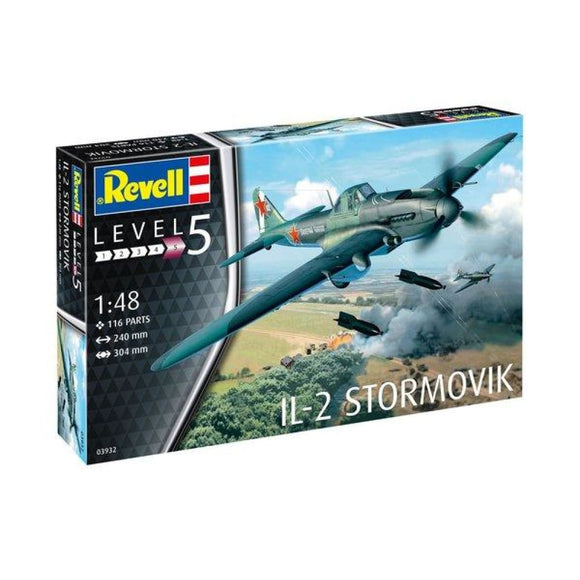 Revell Il-2 Stormovik 1:48 Scale Model Kit 03932 Plastic Kits