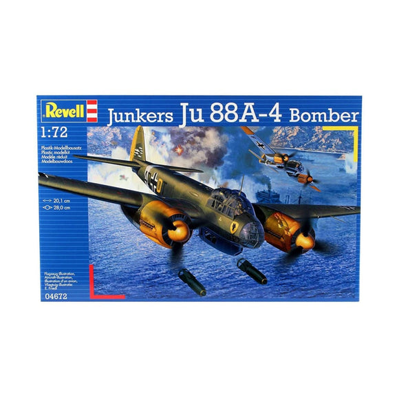 Revell Junkers Ju 88A-4 Model Kit 1/72 Plastic Kits