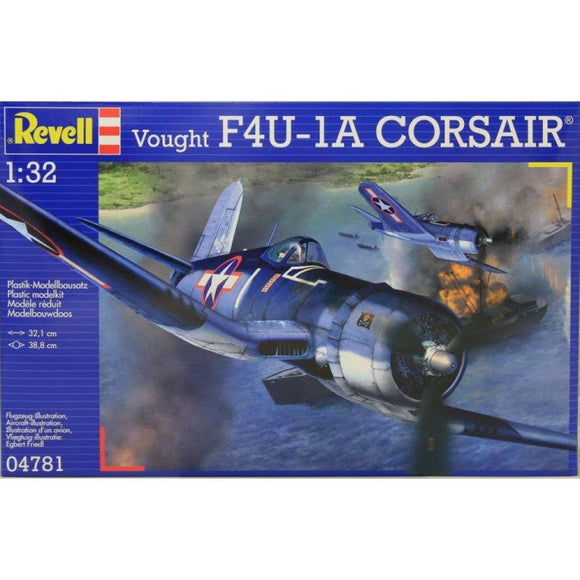 Revell Vought F4U-1A Corsair 1:32 Plastic Kits