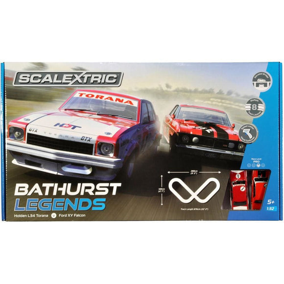 Scalextric Bathurst Legends Slot Cars
