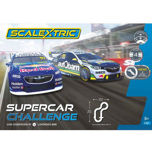 Scalextric Supercar Challenge Slot Cars