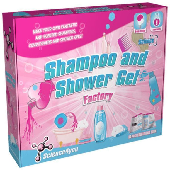 Science4You - Shampoo And Shower Gel Factory Science