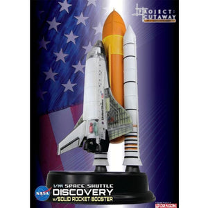 Space Shuttle Discovery With Solid Rocket Booster 1/144 Scale Model Assembled Models