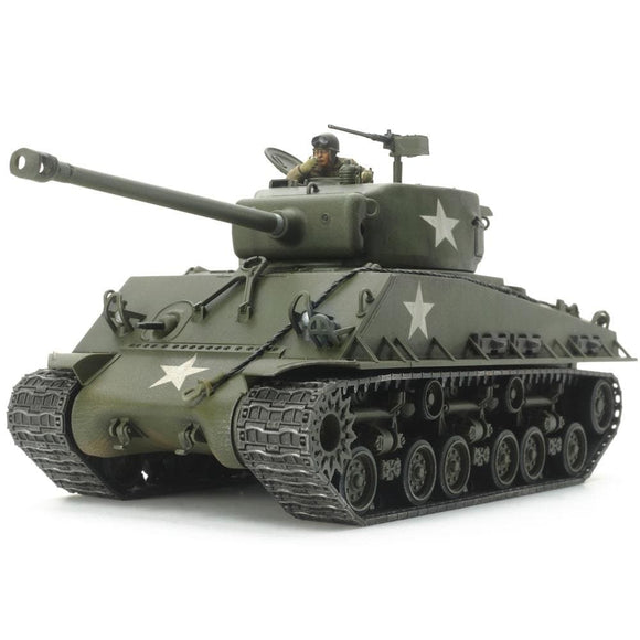 Tamiya U.s. Medium Tank M4A3E8 Sherman Easy Eight Plastic Kits