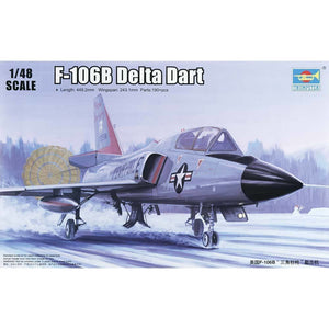 Trumpeter F-106B Delta Dart 1/48 Scale Model Plane Kit Plastic Kits