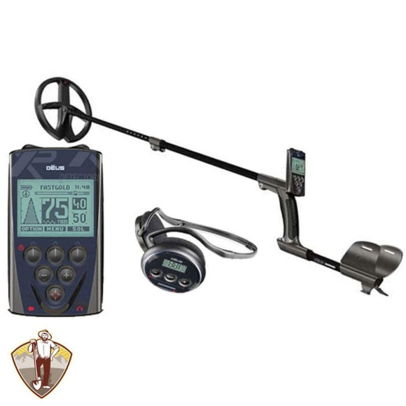 XP Deus Metal Detector Gold Bundle with 9 Coil Metal Detectors