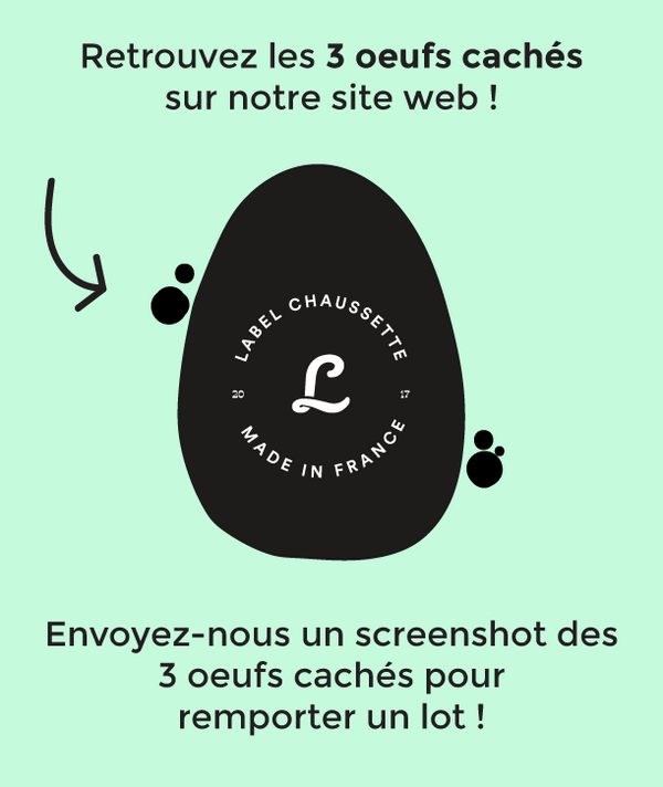 Label Chasse aux oeufs