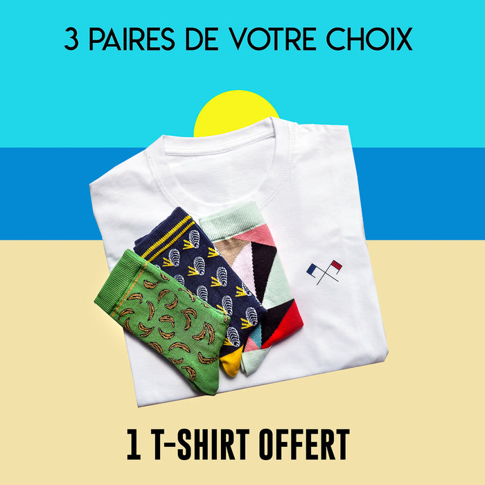 T-Shirt Label Chaussette