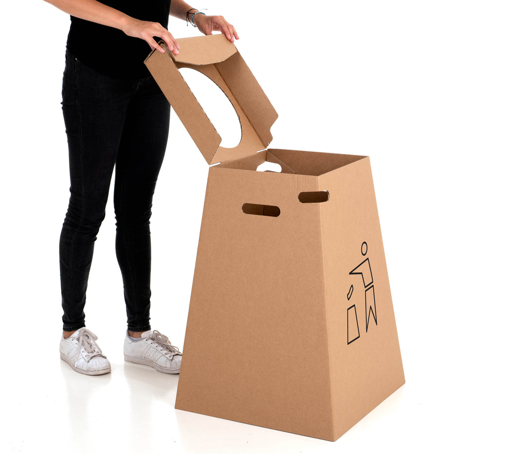 Reuseable Cardboard Rack - 100 L