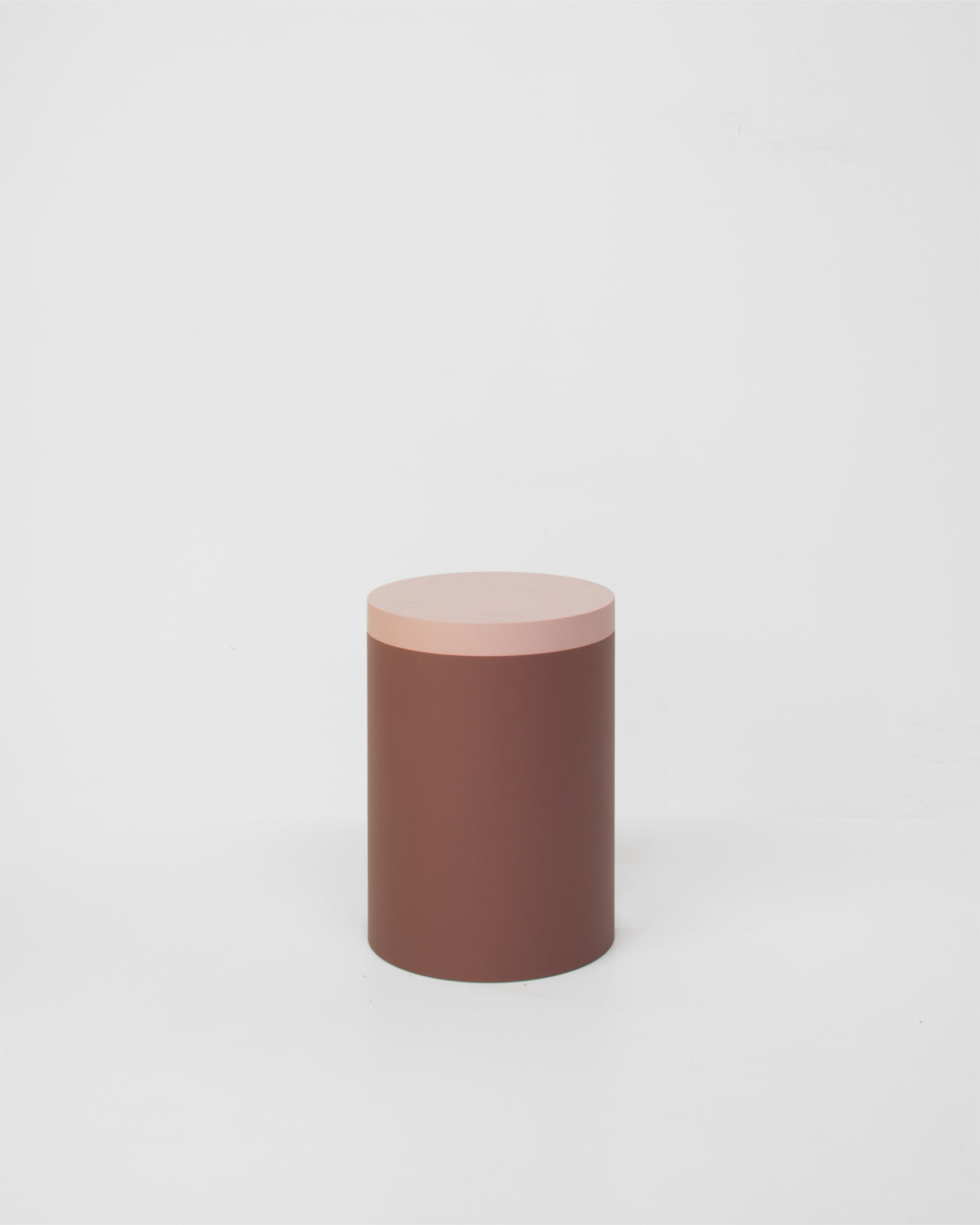 colorful stool in lacquered wood colourful pink