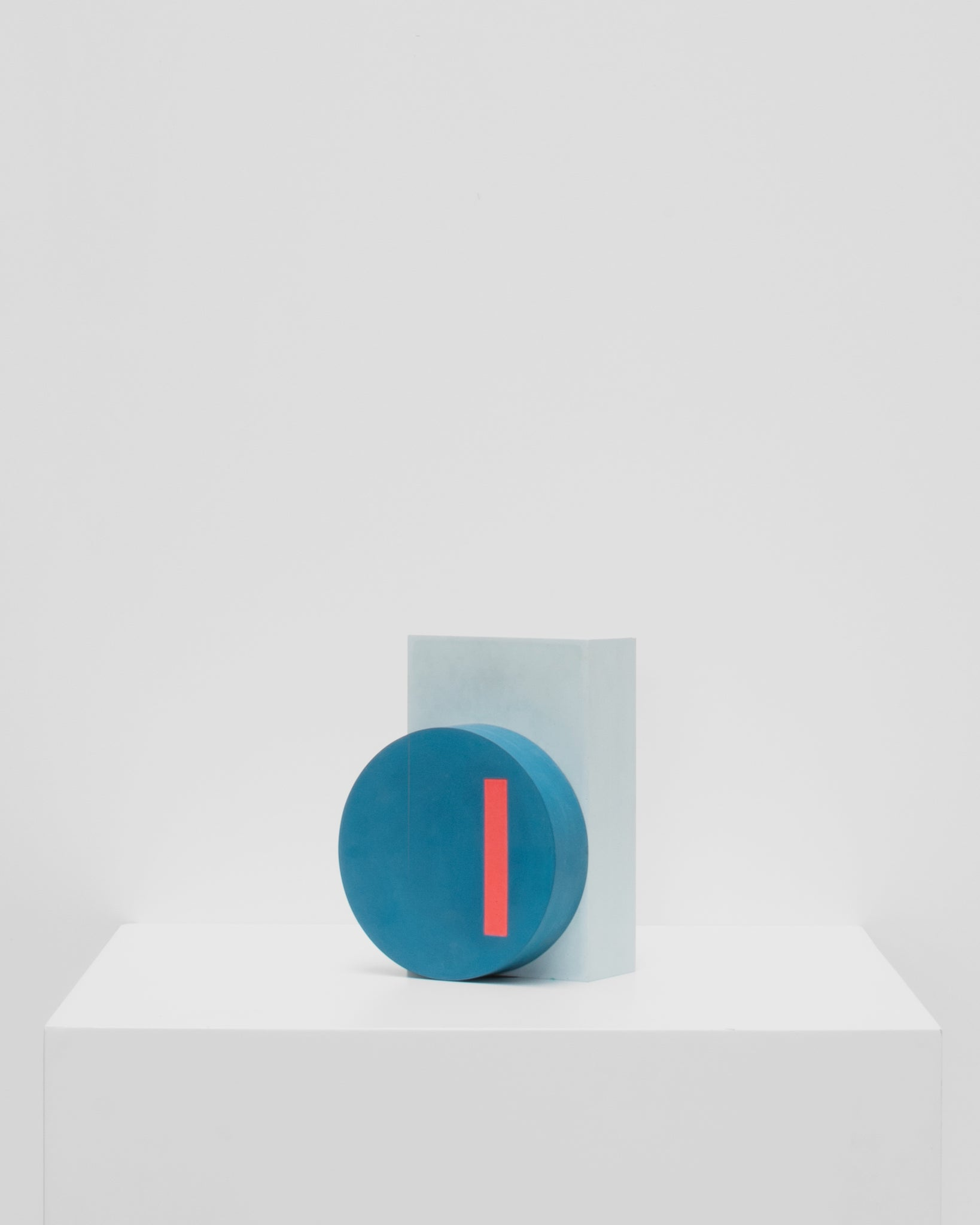 GRAPHIC bookend blue