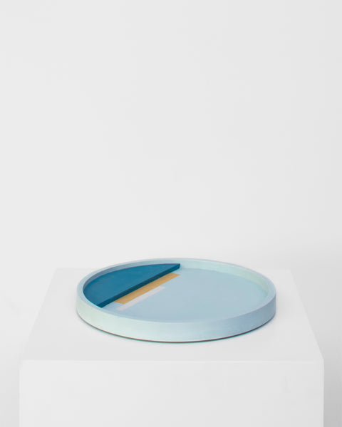 GRAPHIC tray blue
