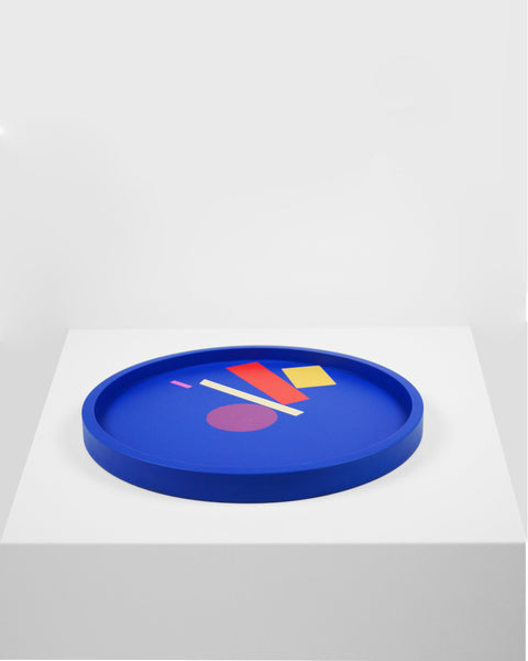 Design forward and beautiful tray for your home interior and accessories. Colorful tray with a contemporary design. Available in various color combinations. Shipping worldwide. Made to order. Carefully handmade in our atelier. A design that adds value to every modern and contemporary home and interior.