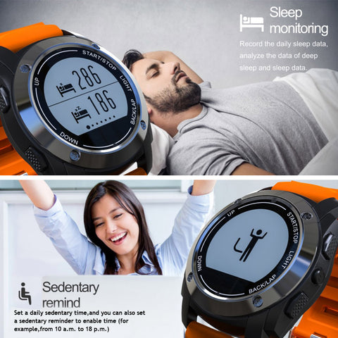Waterproof Heart Rate Monitor Smart Watch