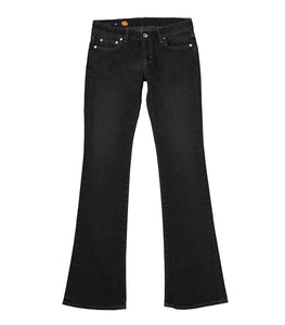 Slim Flare 5pocket (black one wash)