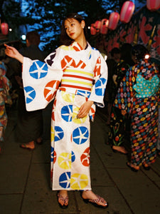 Yukata Set (Morning Glory)