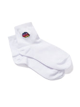 Socks OK LOGO Embroidered WHITE