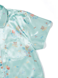 Satin Sets MintBlue