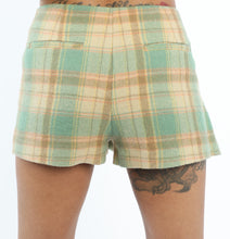 [OK × OC] CHECK SKIRT (BEIGE-GREEN PLAID)
