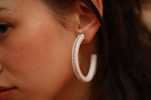 Gyaru Earrings (earrings) White