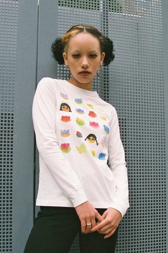Parade of friends L/S TEE (Wildflower forest)