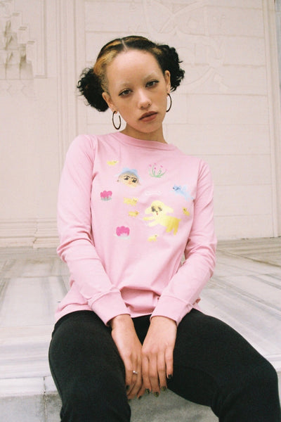 Parade of friends L/S TEE (World of girl)
