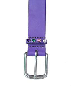 [OK×MAXIMUM HENRY] Gem Belt (Majo Purple)
