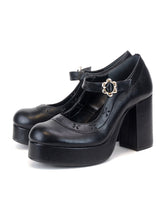 [OK×ESPERANZA] Flower Fantasy Pumps(BLACK)