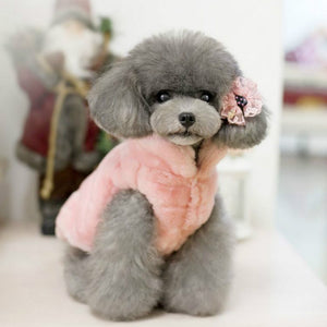 Fleece Dog Coat (Pink)
