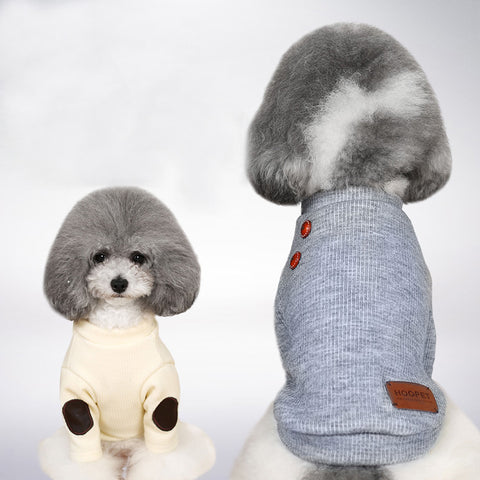 Fancy Pup Sweater (White)