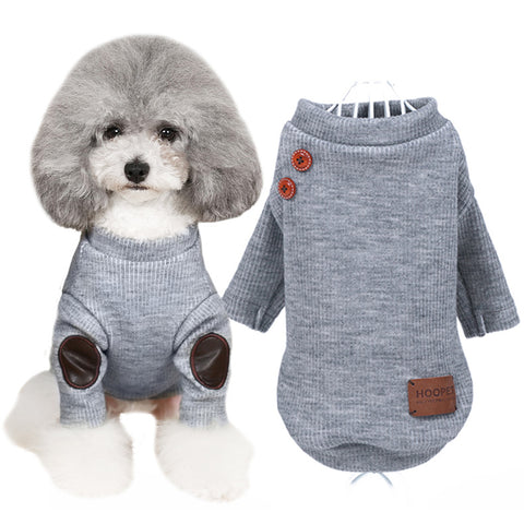 Fancy Pup Sweater (Grey)