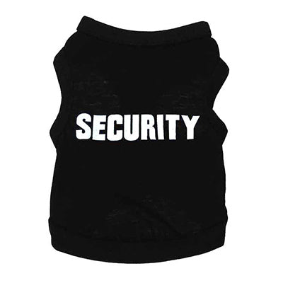 Security Pup T-Shirt (White)
