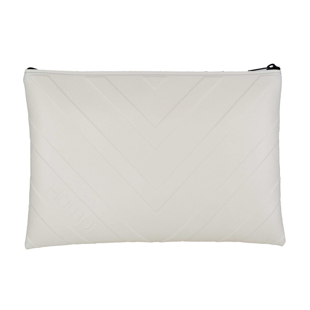 White Laptop Case