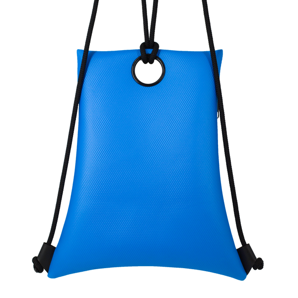 Blue Horizontal Backpack