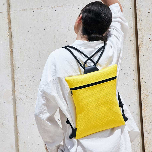 Yellow Star Backpack