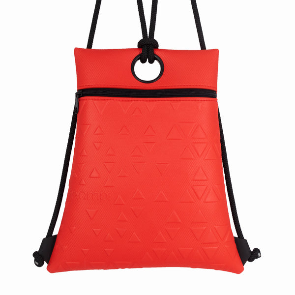 Red Horizontal Backpack