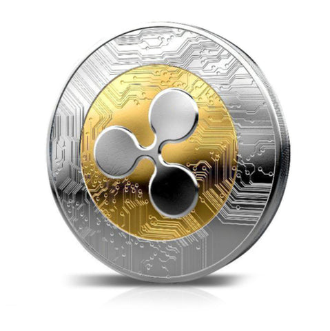 ripple coin, commemorative ripple coins, collectable ripple coin, collector ripple, collector crypto coin, collectable crypto coin