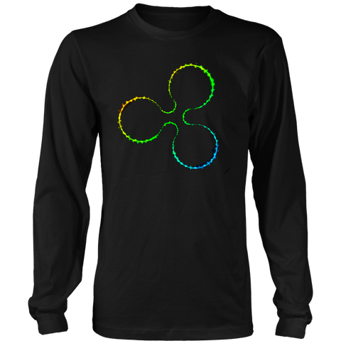 Awesome XRP Ripple Long Sleeve Shirt - Premium Crypto T-Shirts