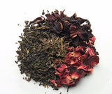Hibiscus Green Tea