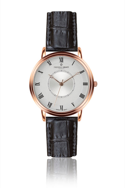 Rose Grand Combin Rose gold Leather