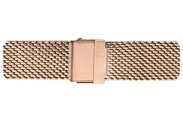 Mont Brule Rose gold mesh