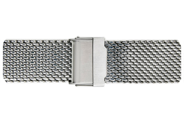 Everest Silver Mesh Watch