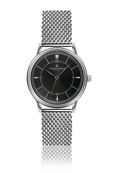 Makalu Silver Mesh Watch
