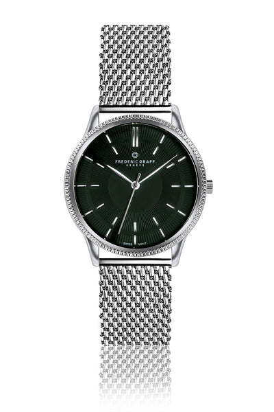 Broad Peak Silver Mesh Watch