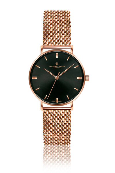 Gasherbrum Rose Gold Mesh Watch