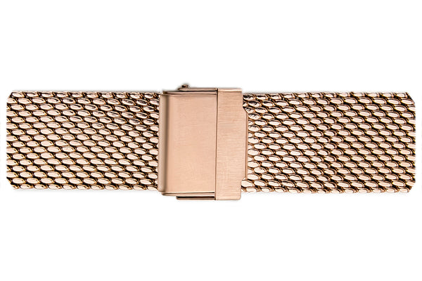 Annapurna Rose Gold Mesh Watch