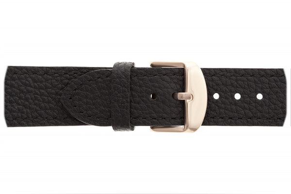 Shispare Black Leather Strap Watch