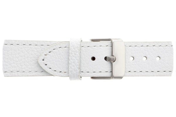 Denali Lychee White Leather