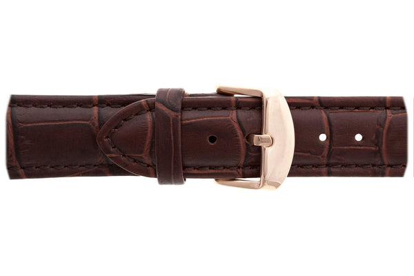 Sitamma Konda Croco brown Leather